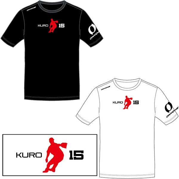 超限定 オンヨネ KURO15 Tシャツ 黒田選手 シルエット OKJ97K98