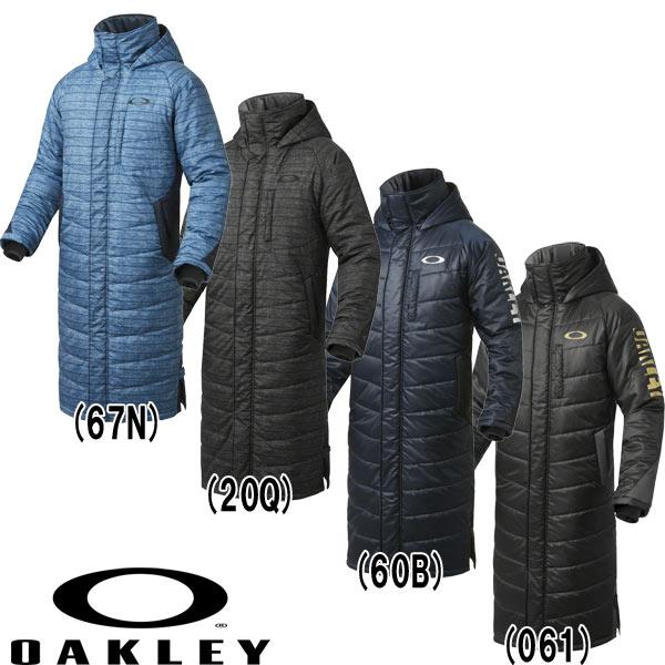 オークリー ベンチコート ロングコート ENHANCE WIND WARM LONG COAT 6.7 412260JP oak16fw