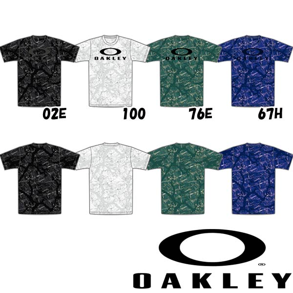 即日出荷 限定 OAKLEY オークリー Tシャツ Enhance Technical QD Tee.17.06 456682JP oak17ss