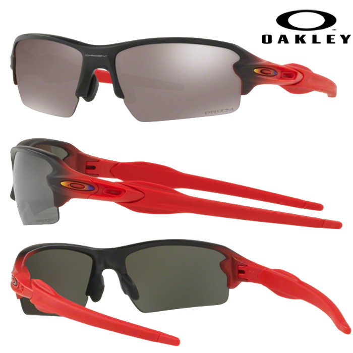即日出荷 OAKLEY オークリー サングラス 偏光 FLAK 2.0 ASIA FIT PRIZM POLARIZED RUBY FADE OO9271-20 oak17fw