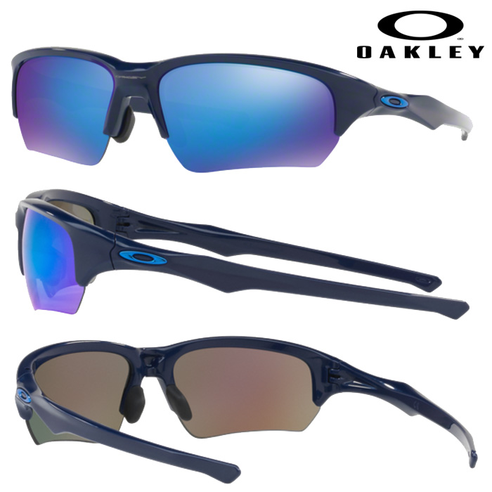 即日出荷 OAKLEY オークリー サングラス FLAK BETA (ASIAN FIT) SAPPHIRE IRIDIUM NAVY OO9372-03 oak17fw