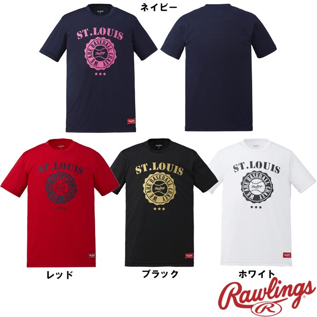 ローリングス Tシャツ We are Baseball Crazy AST7S05 raw17ss